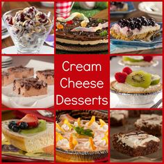 Cream Cheese Desserts: 16 Diabetic-Friendly Cream Cheese Recipes | EverydayDiabeticRecipes.com