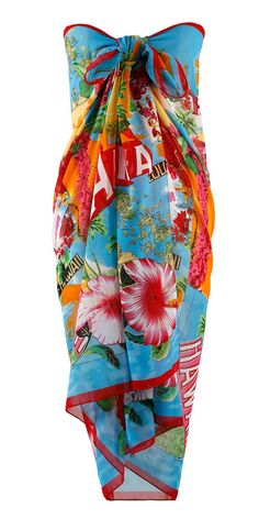 Plus Size Swimsuit Cover Ups - Always For Me Cover Aloha Pareo Women's Plus Size Swimwear, Trendy Swimwear, Curvy Swimwear, Plus Size Dresses, Plus Size Outfits, Plus Size Cover Up, Plus Size Bikini Bottoms, Mode Plus, Swimsuit Cover Ups