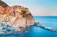 Take a cue from the Italians and head to one of these local-favorite seafront towns to escape the bustle of the cities.
