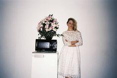 EDITORIAL BIPPITY MAGAZINE  Photos : Frankie et Nikki Modèles : Ornella Boulé-Fasanella & Hubert Delattre Robe : Violette Tannenbaum Lieu : Notre-Dame d'Espérance