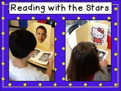 "Encourage reluctant readers with this ""Read to Others"" activity: Reading With the Stars"