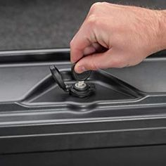 The secure, versatile Twist-lock allows you to open your SwingCase with or without a key. Best Truck Tool Box, Truck Tools, Truck Bed Rails, Truck Bed Covers, Emergency Supplies, Tonneau Cover, Cool Trucks, Undercover, Easy Install