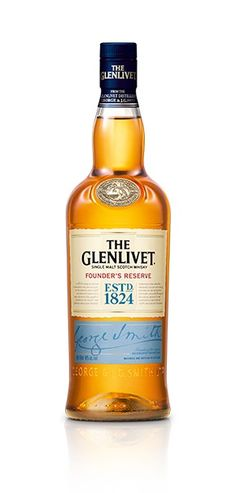 A tribute to an original vision The Glenlivet is proud to introduce The Glenlivet Founder's Reserve, a new single malt that has been almost 200 years in the making. Created to honour the original vision of our pioneering founder George Smith, The Glenlivet Founder's Reserve pays tribute to the uniquely smooth and fruity taste he first envisioned in 1824.