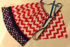 American Flag Baby dress and Scarf SetUS flag by trendybowsnbands, $29.99
