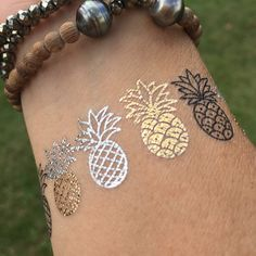 Taking our pineapples out for a beach day                                                                                                                                                      More