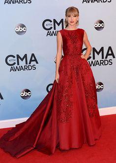 Taylor Swift red dress