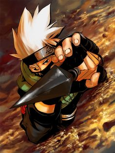 Kakashi Hatake - Naruto,Anime