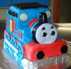 3D торт Паровозик Томас – видео-рецепт