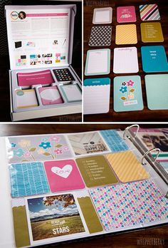 WhipperBerry with Blush Edition of Project Life #scrapbook #projectlife