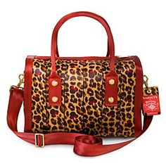 I need this in my life Disney Minnie Mouse Leopard Marilyn Satchel by Harveys Disney Fun, Disney Style, Disney Travel, Disney Magic, Fashion Handbags, Purses And Handbags, Disney Brands, Disney Products, Disney Outfits