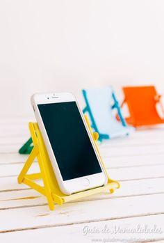 Sillita de playa para tener tu móvil siempre a mano
