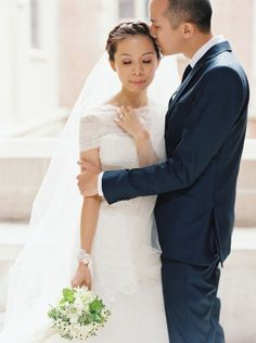 Elegant Romantic Paris Elopement - Wedding Sparrow   Best Wedding Blog   Wedding Ideas