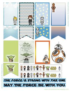 Free Star Wars Planner Stickers                                                                                                                                                      More