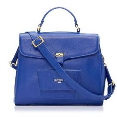 Florian Penelope Leather Tote, Blue