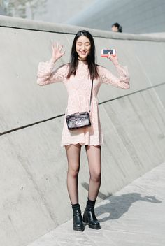 seoul fashion week street style - Google Search