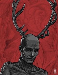 Hannibal-Antler-Man by quasilucid.deviantart.com on @deviantART