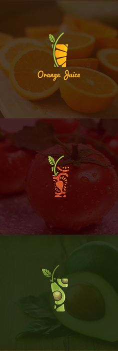 """Check out this @ Behance project: """"Juice Logo Colle . - Check out this @ Behance project: """"Juice Logo Colle … – - Creative Logo, Creative Design, Design Art, Food Design, Cup Design, Graphic Design Projects, Logo Inspiration, We Do Logos, Packaging Design"""