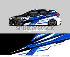 Find Vehicle Graphic Wrap Design Abstract Racing stock images in HD and millions of other royalty-free stock photos, illustrations and vectors in the Shutterstock collection. Thousands of new, high-quality pictures added every day. 3d Racing, Racing Car Design, Slot Cars, Race Cars, Sports Jersey Design, Vehicle Signage, Ford Fiesta St, Drift Trike, Mustang