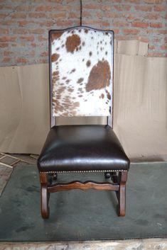 Classic Cowhide Chair $350