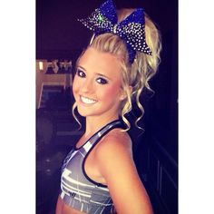 Cheerleader Hairstyles oh the hair for cheerleading Cheer Athletics Junglecats Bianca Treger Cheer Athletics Pinterest Cheer The Ojays And Braids