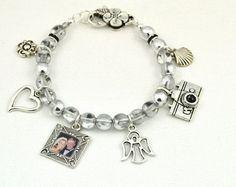 Custom Photo Charms Name Braceletbracelet Charmsbracelet Makingmemorial