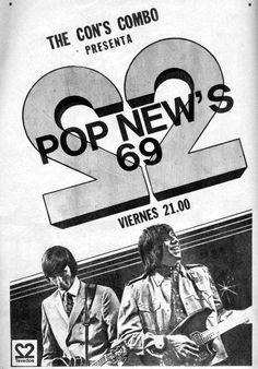 Publicidad del CANAL 2 de La Plata, Argentina, década del 70.