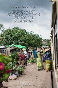 This is my Myanmar train story: How I went on the slow train from Inle Lake to Thazi and then couldn't find transport to Yangon. #publictransport #traintravel #destinationguide