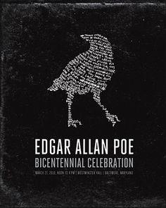 """""""Horror"""" writer: Poe. The original thriller and inspiration for 'The Following'!"""
