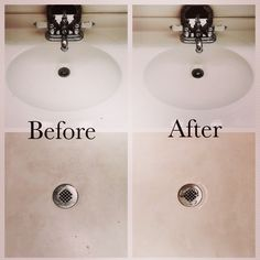 #freesample I used Kaboom No Drip Mildew & Mold Stain Remover with Bleach on multiple surfaces in my bathroom. I first used it on my sink. I then went to my stand-up shower and sprayed it on the floor of the shower, the wall, the glass door and tiles. It worked great on the door - no streaks! It stayed in place, no dripping at all. I had to use it twice on the floor, and it didn't lift all the stains as I was hoping it would. None the less, it did a great job!