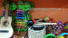 Instrumentos musicales. ranarenata.com.ar