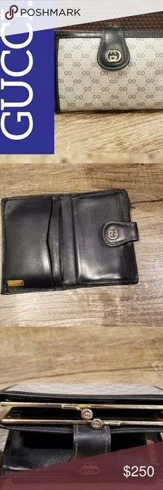 AUTH GUCCI SMALL WALLET Worn but still in good condition. Worn with Care! Gucci Accessories