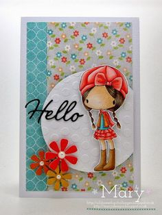 All Dressed up Challenge blog: Why Hello :) Say hello to this little cutie from Dressy Girl Mary