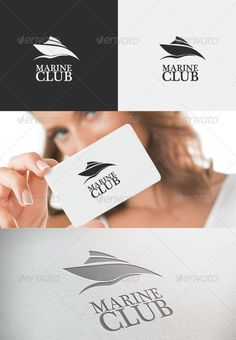 Marine Club Logo  #GraphicRiver        MARINE CLUB LOGO  This simple and modern logo template is suitable for various companies related with sea & river sports or any other water activities. It can be easily adjusted to fit your needs. All layers, fonts and colors are editable.  FONT  Font used is free and can be downloaded at:  Plantagenet Cherokee ( .fontpalace /font-details/Plantagenet+Cherokee/)    AI and EPS 300PPI  CMYK  100% resizable vector files  Easy to edit color / text  Read