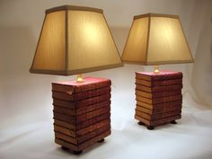 Book Lamp Antique Upcycled Books Silk Lamp Shade by FirstandFig, $245.00