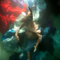 No, this is not a painting. This is one of the underwater photographs that Christy Lee Rogers took. Very inspiring!