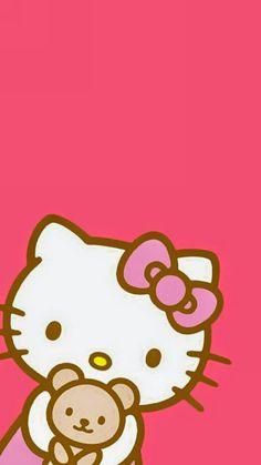 シ ン プ ル キ テ ィ ち ゃ ん iphone 壁 紙 wallpaper backgrounds and plus カ Cute Wallpaper For Phone, Hello Kitty Wallpaper, Wallpaper Iphone Disney, Hello Kitty Pictures, Kitty Images, Hello Kitty Backgrounds, Video Pink, Sanrio Hello Kitty, Cute Wallpapers