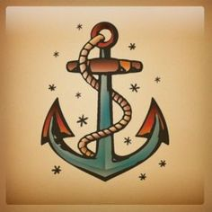 old school tattoo ancora - Pesquisa Google