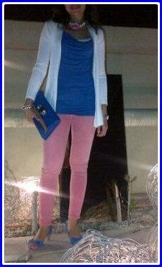 Colour Blocking.. My way ;)