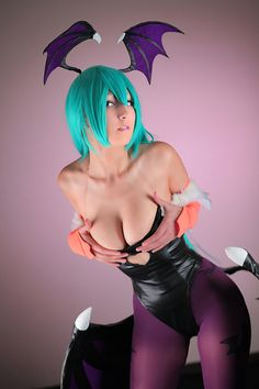 Like promised on the Facebook here's more of my favorite demon Morrigan by DalinCosplay.