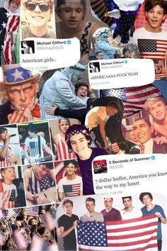 1D and 5sos love America more than me