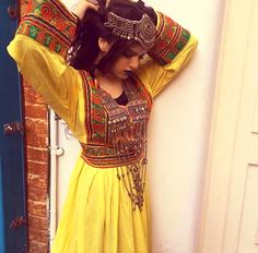 #afghan #style #dress #jewelry