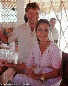 they look so happy. Elizabeth Taylor and Richard Burton.