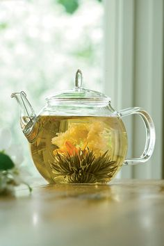 Blooming Tea Set - I have tried this at a friend's house. It's pretty awesome!