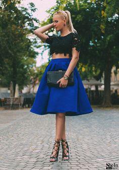 Casual Flare High Waist Pleated Pockets Vintage Midi Skirt   -      -   Skirts, www.looklovelust.com   -   17  https://www.looklovelust.com/products/casual-flare-high-waist-pleated-pockets-vintage-midi-skirt