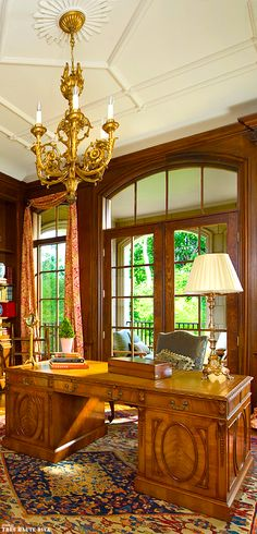 Classic French home office