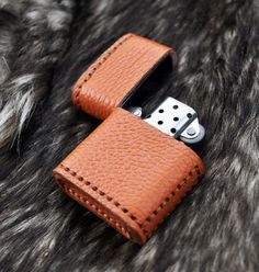 Leather Zippo Case/Cover