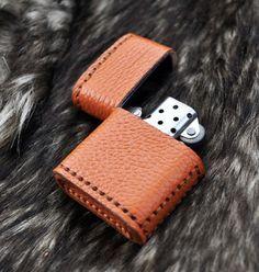 Leather Zippo Case/Cover