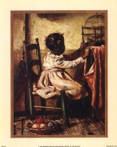 A Womans Work is Never Done by Harry Roseland 11 x 15 Art Print of Vintage Art