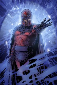 """Magneto is one of the most infamous and powerful mutants, possessing the ability to manipulate magnetic fields. The self-titled """"Master of Magnetism"""" has played many roles in his long life: terrorist, savior, revolutionary, ruler, villain, and anti-hero. Magneto has allied himself with Cyclops, and his team of revolutionary X-Men."""
