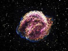 NASA divulga imagens incríveis da supernova Kepler